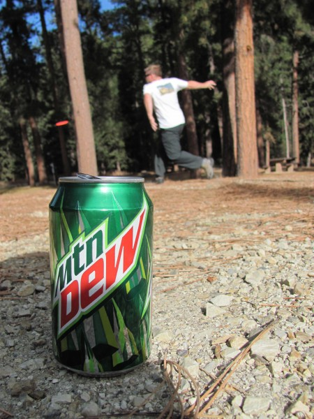 nemo disc golf, sponsored by mountain dew.,Jack
