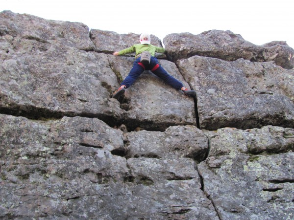 this is me on a 5.8 crack easy. belivie it or not, my 5 year old siste...