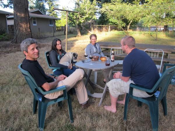 Kirk, Summer, Debbie, Tom