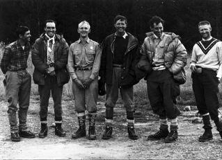 Ted Wilson, Pete Sinclair, Ralph Tingey, Mike Ermarth, Rick Reese, Bob...