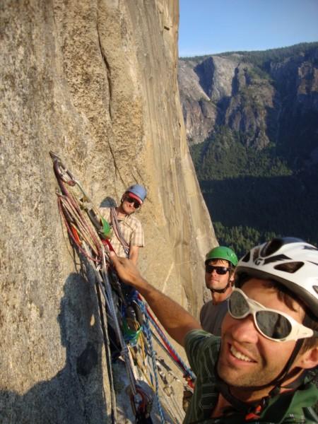 Somewhere below El Cap Spire
