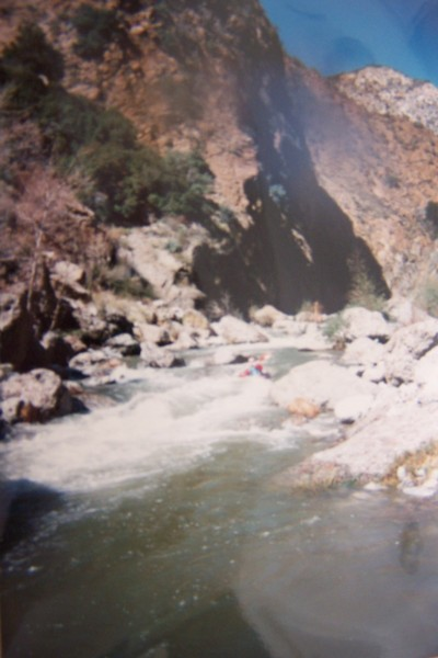 Middle section of Piru Creek