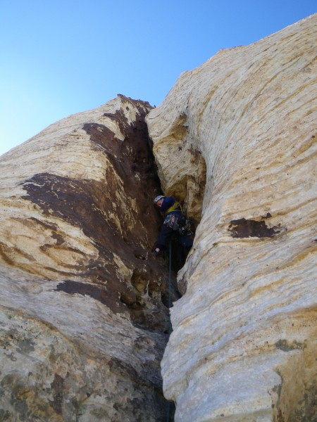 Noal on fourth pitch of Purblind Pillar