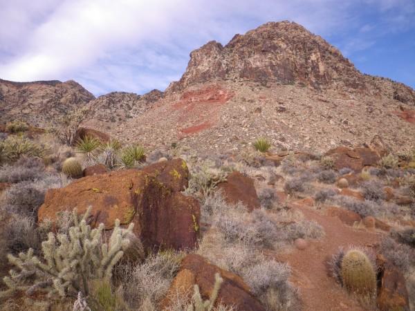 Windy Peak, on the approach