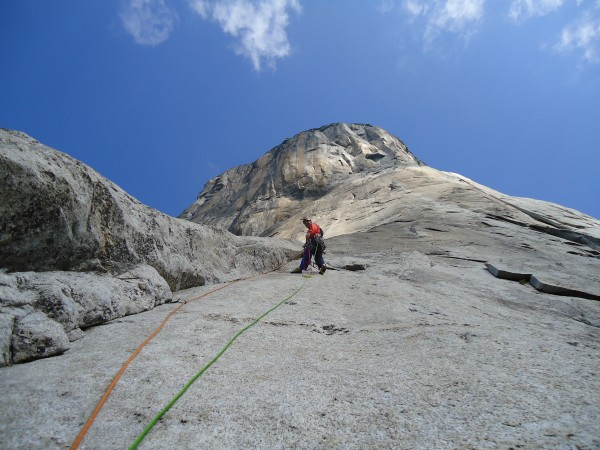 4th pitch - almost at Sickle