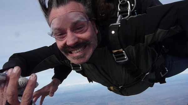 My brother Gabe's first skydive