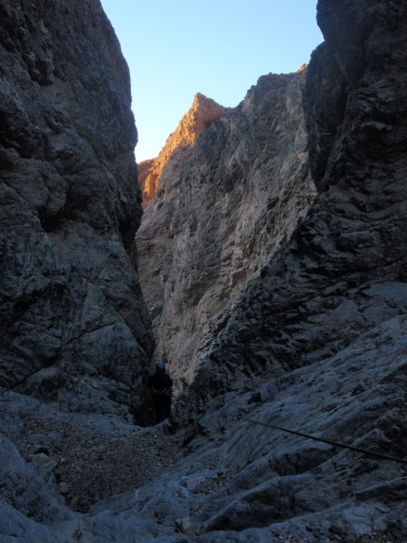 In the depths of Bad Canyon