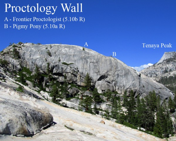 Proctology Wall, Tuolumne