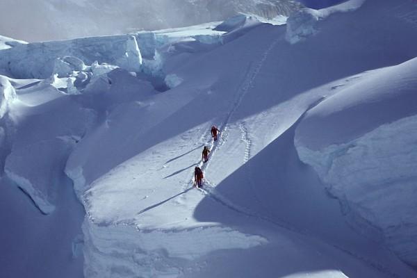 NE Fork icefall