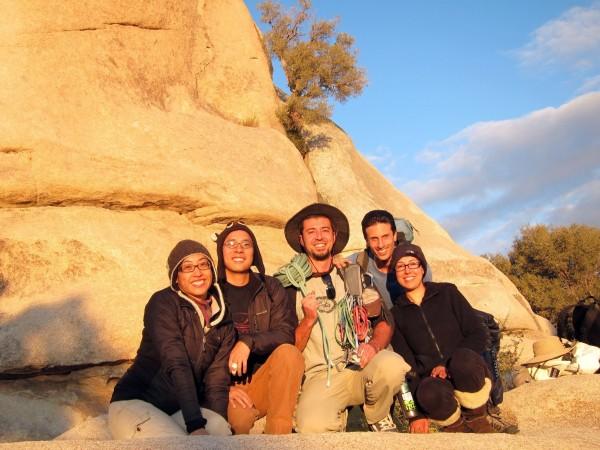 Marina Kong, Ben Kong, Kalen (5th wheel) Glenn, Jarom Feriante, Lucia