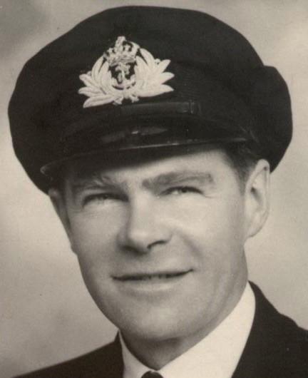 Frederick L Glover, Lt. Commander, RNVR About 1944