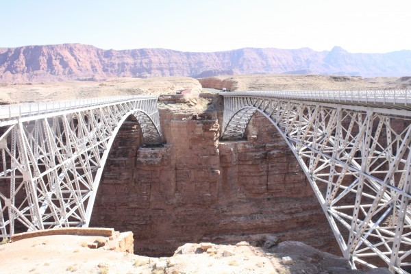 Navajo Bridge in Arizona