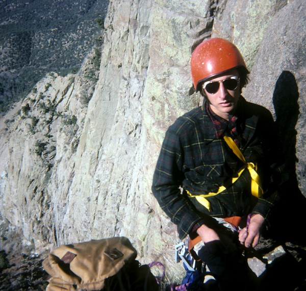 High on the Shield, Sandia Mountains, New Mexico, October 1976