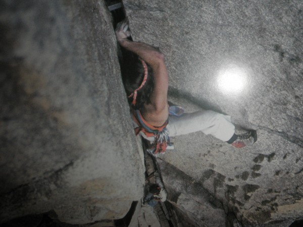 The Classic shot of Nic Taylor doing his thing in Yosemite Climber. <br/>