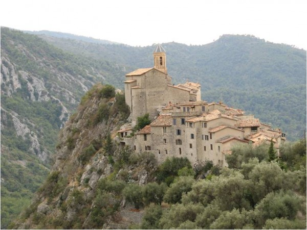 Peillon, in the southern part of France, near Nice