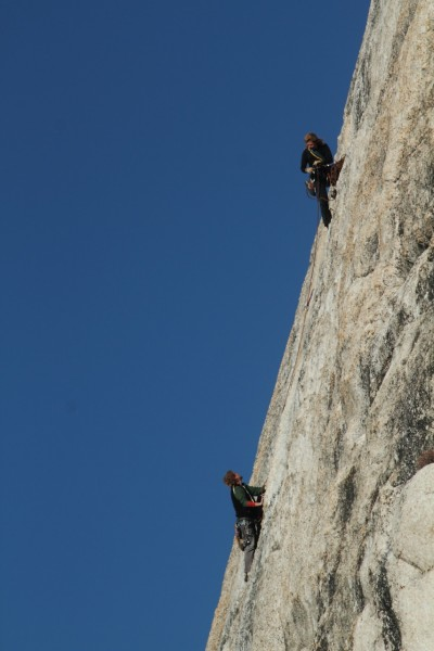 Missus and I on West Crack, Jan. 4. To call it a winter ascent just wo...