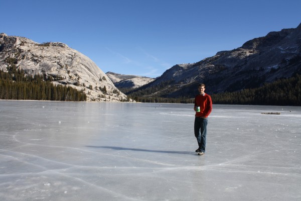 Hanging out on Tenaya Lake!