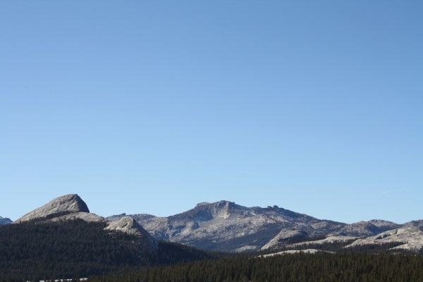 Fairview Dome and Tuolumne Peak. - January 9th, 2012