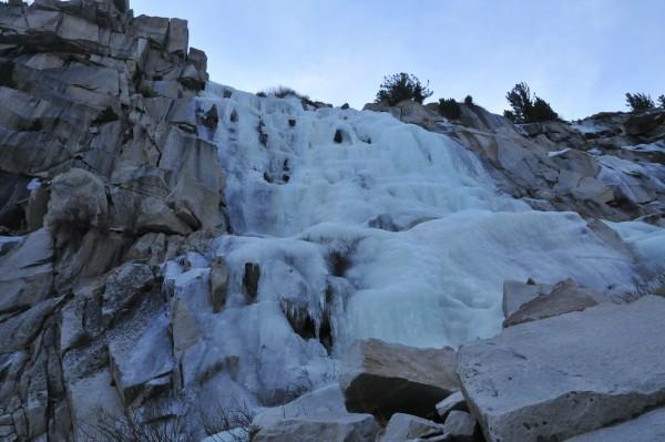 Chouinard Falls January 8, 2012
