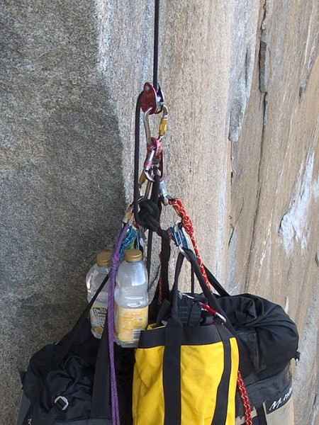 Always Tie A Safety Knot To Your Bags Back Up The Mini Trax
