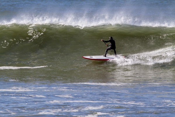 Me at SF Ocean Beach 1/8/12