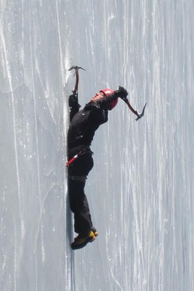 Har-duh ice climbing
