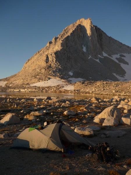 Merriam Peak in the morning