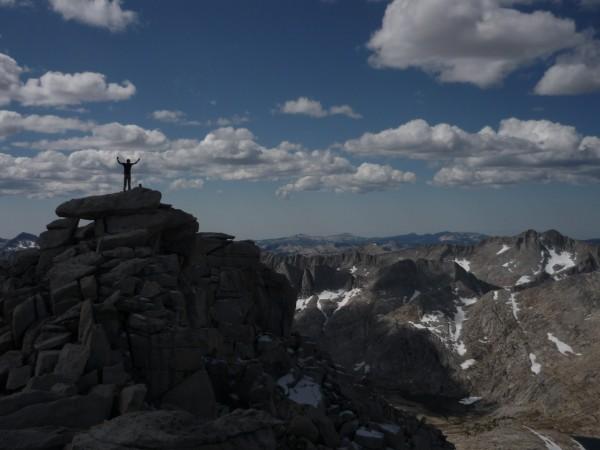 Chuckles on top of Royce peak.....maybe