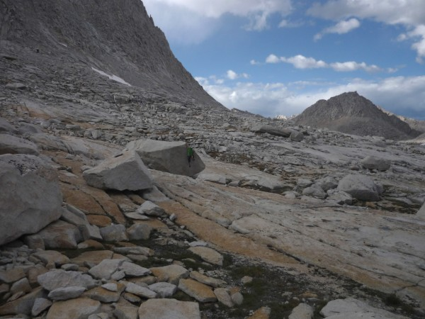 bouldering by Royce lakes