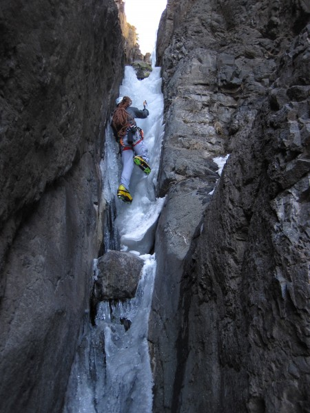 Fun mixed and thin ice bouldering. <br/>