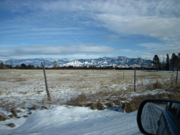 Bozeman countryside