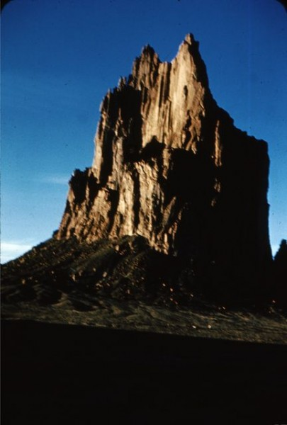 Shiprock, March 1961 or 62