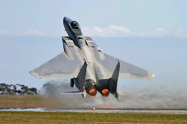 F 15C fastest recorded takeoff