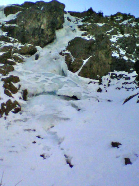North Gully Horsetail Falls.