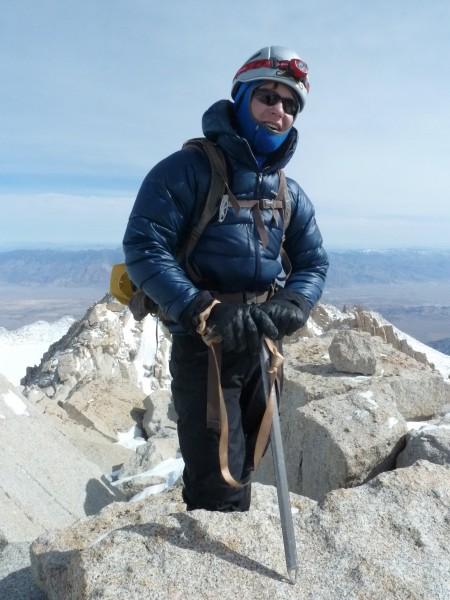 East Ridge Mt. Russell, Feb 2012.