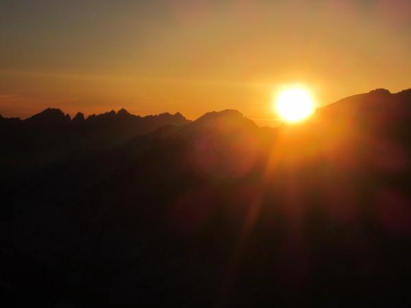 Kaweahs sunset