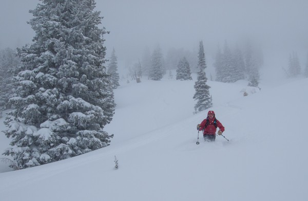 It's been a terrible year in Utah, but there has been some powder.  To...