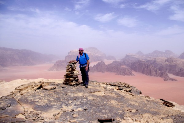 Summit of Jebel Khazali, 2012 <br/>
