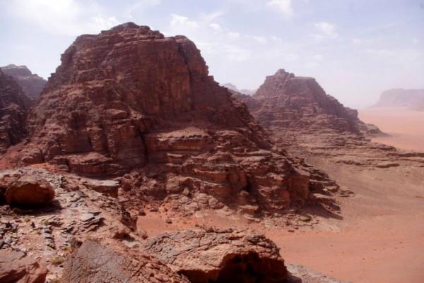 Towers, Wadi Rum, Jordan