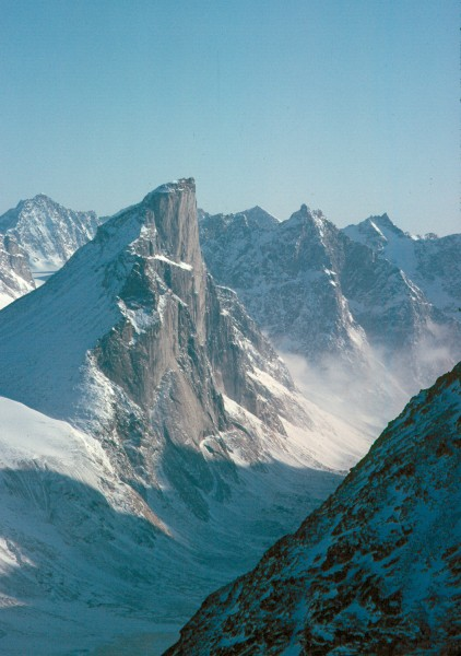 West Face of Mt. Thor