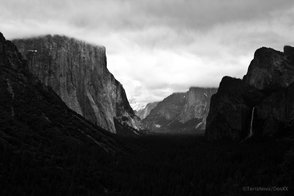 View from Wawona Tunnel.