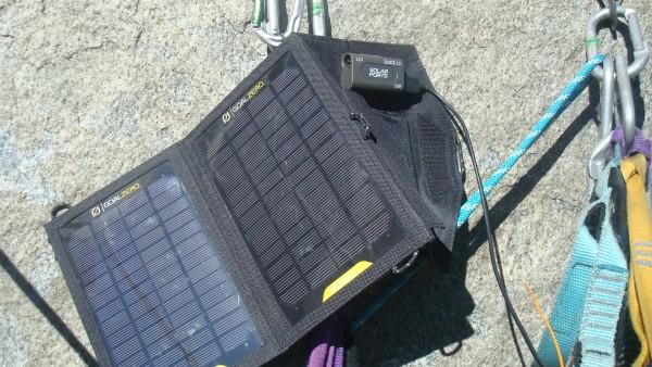 Rockin the Solar Pan