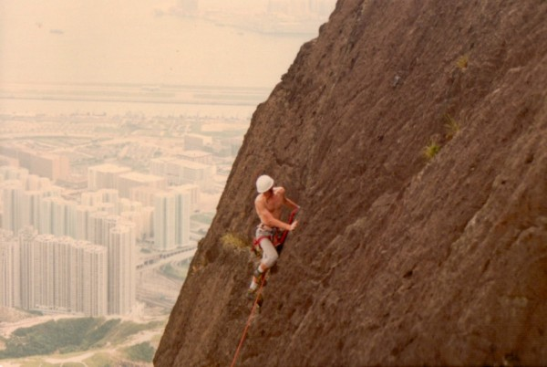 Definitely on Kowloon Peak
