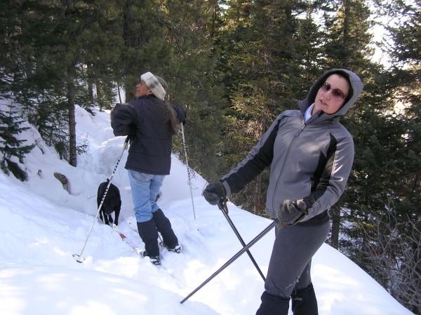 X-C skiing <br/>