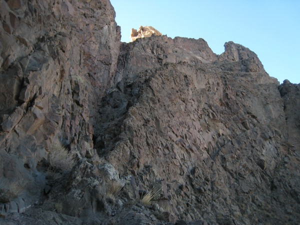 Ramp to Sierra Col