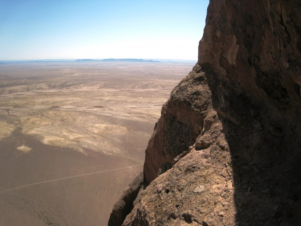The high traverse (where you don't want to go).  There is a pi...