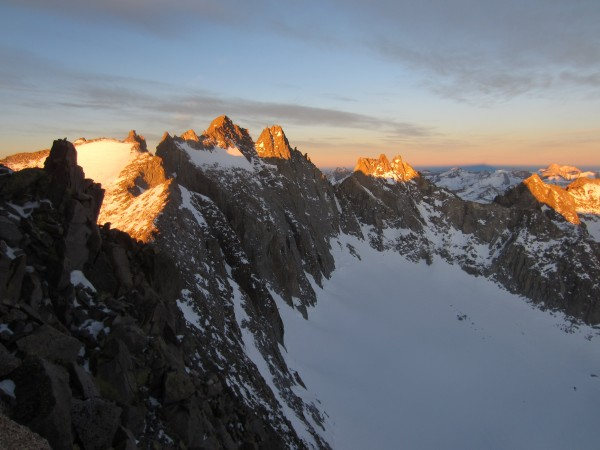 Love this place-Palisade traverse in winter (Feb)