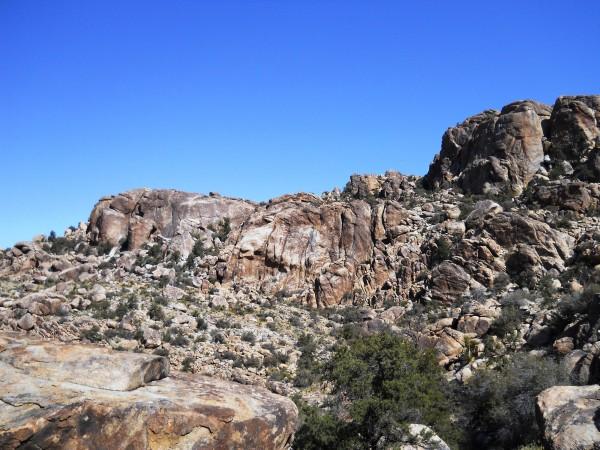 Underground Chasm, Lower and Upper Walt's Rock