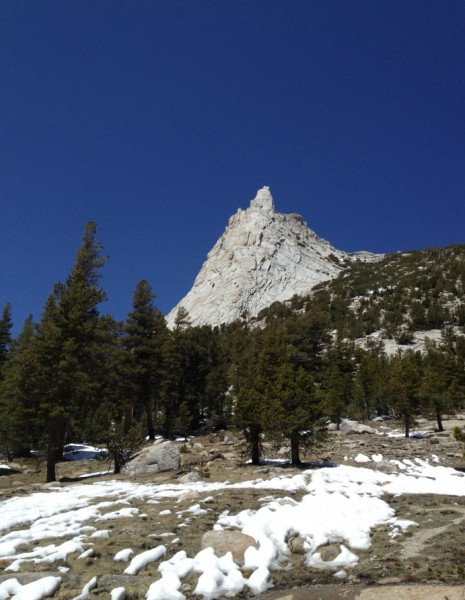 Cathedral Peak on May 18, 2012