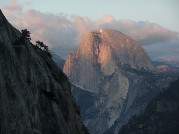 Half Dome from the Bismark